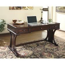 signature design by ashley devrik medium brown home office desk af home office