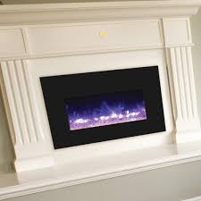 amantii 30 inch electric fireplace insert with black glass surround insert 30 4026 gas log guys