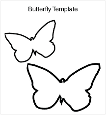 Butterfly Wings Printable Template Free Midcitywest Info