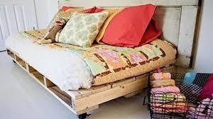Pallet Bedroom Smart Diy Pallet Bed Ideas Youtube