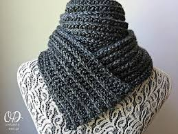 Ribbed Scarf Pattern Adorable Classic Men's Ribbed Scarf AllFreeCrochet