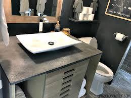concrete vanity top diy for less uncookiecutter com