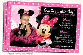 Minnie Mouse Invitation Design Minnie Mouse Birthday Invitations Minnie Mouse Birthday