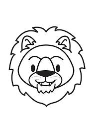 Disegno Da Colorare Testa Di Leone Cat 17901 Images