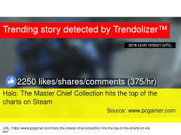 Halo Charts Halo The Master Chief Collection Hits The Top Of The Charts
