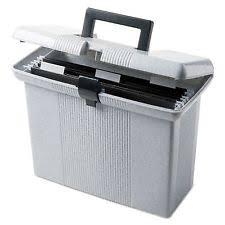 hanging file box. Pendaflex Plastic Portable Hanging File Folder Storage Box Tote - Letter Size