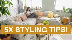 Woonkamer Gezellig Inrichten 5 Styling Tips Binti Home Youtube