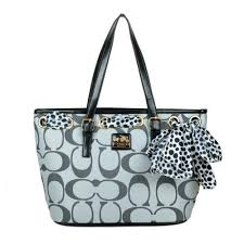 Wish You Can Find Your Favorite Coach Legacy Scarf Medium Grey Totes EAO  Here!