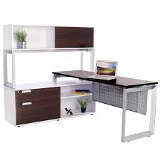 buy office desks. Options Straight Desk With Low Credenza And Overhead Storage Buy Office Desks S