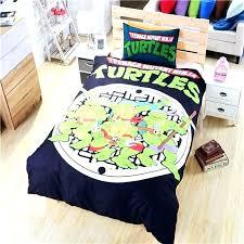 bedding sets ninja turtle twin bed set comforter new duvet steelers baby turt