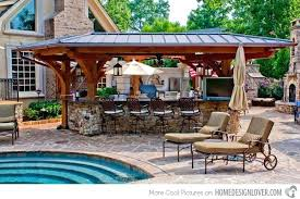 patio with pool simple. Delighful With Backyard Outdoor Kitchens Simple Pool Patio Ideas  Kitchen Design Elegant To Patio With Pool Simple