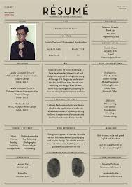 Awesome Resumes 4 Amazing Examples Of Cool And Creative Cv Design
