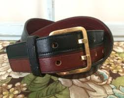 infinity belt. vintage infinity double prong leather belt. condition. size 36. belt y