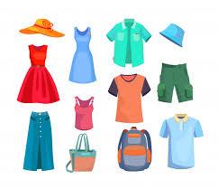 Free Vector | <b>Summer clothes set</b>