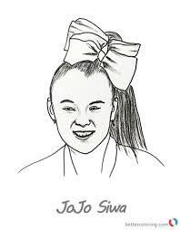 Innovative Jojo Siwa Coloring Pages 9371 800 1024 Free Kids Area