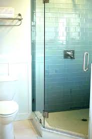 shower glass tile showers shower installation designing subway bathrooms photos glass tile showers