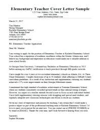 Early Childhood Teacher Cover Letter Preschool Teacher Resume A