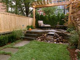 Narrow Backyard Landscaping Ideas Small Yards Big Designs Diy Home  Decorating Best About Yard