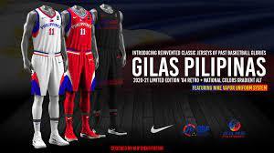 Gilas Pilipinas Retro Nike Jerseys ...