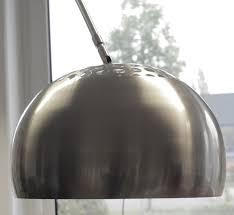 Stehlampe Stehleuchte XXL Bogenlampe Edelstahl mit Marmorfuß | eBay