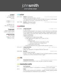 Resume CV Cover Letter  high school resume sample  sample  Resume     clinicalneuropsychology us How to reduce the left margin of the Friggeri CV template