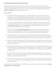 Tips For Resume Writing Unique Resume Writer Job Description First Time Resume Resume Writing Job