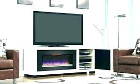 entertainment console with electric fireplace tv stand