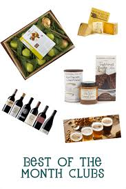best monthly gift clubs for the holidays