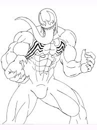 Or you can also color online on our site with the interactive coloring machine. Venom Coloring Pages Download And Print Venom Coloring Pages