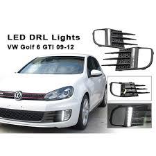2015 Vw Gti Daytime Running Lights White Led Daytime Running Lights For Vw Golf Vi Gti 2009