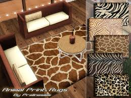 pralinesims animal print rugs animal print rugs home decor photos