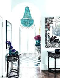 blue beaded chandelier by designs exciting light fixture inside prepare 14