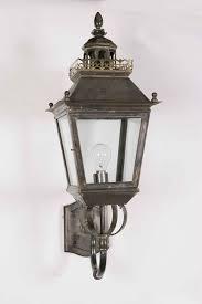 château replica victorian period outdoor wall light solid brass