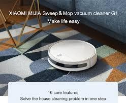 Xiaomi <b>Mijia G1 Robot Vacuum</b> Cleaner Wet Mopping Auto ...