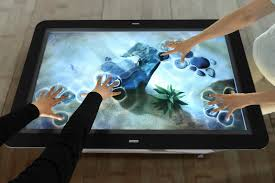 Computer Coffee Table Images Of Touch Screen Coffee Table Elegy