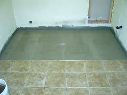 showers diy concrete shower pan without liner stunning ideas floor need advice on no tile