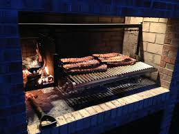 rack of ribs on a parrilla grilling insert argentine grill inspirations