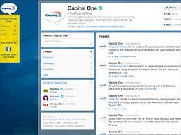 Capital One Bank Customer Service Top 10 Social Media Stars Capital One 8 Fortune