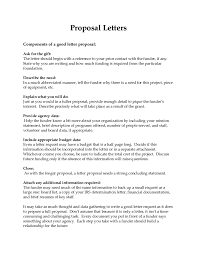 2018 Business Proposal Letter - Fillable, Printable Pdf & Forms ...