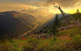 scenery beautiful mountain wallpaper