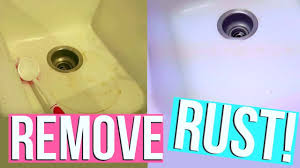 How To Clean Rust Stains How To Remove Rust Stains Fast Clean With Me Page Danielle