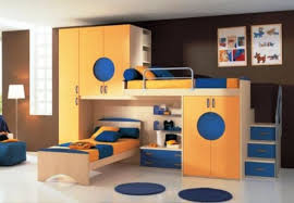 cool kids bunk bed.  Bed Retro Cool Bunk Bed With Kids