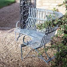 Unique Outdoor Metal Benches Metal Patio Garden Benches Ebay Metal Garden Metal Bench