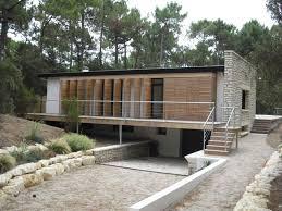 architecte lau geoffroy royan maison la palmyre persiennes battantes bois sur ossature métallique