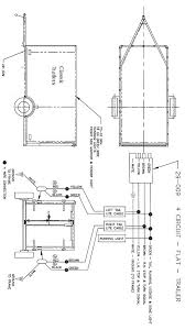 trailer wiring diagram 4 wire circuit trailer ideas circuits utility trailer and camping