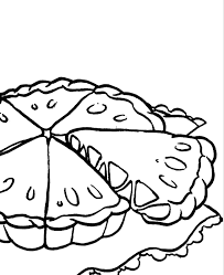 Small Picture Apple Pie Cake Coloring Pages Food Coloring Pages KidsDrawing