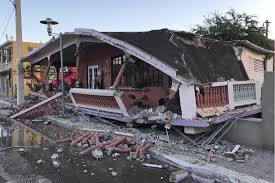 (image copyright © james mori, research center for earthquake prediction, disaster prevention major earthquake that can cause serious damage over areas larger than 100 kilometers across. 6 4 Magnitude Quake Strikes Puerto Rico Killing At Least 1 Amid Heavy Seismic Activity