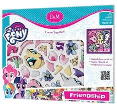 <b>D&M Витражная мозаика</b> Дружба My Little Pony (66771) — купить ...