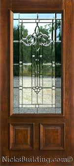 interior single glass exterior door brilliant front with insert partial size the inside 3 from