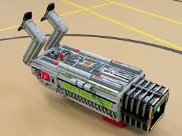 here comes the doom with this bfg 9000 gun made out of lego cnet bfg9000 advertising agency office